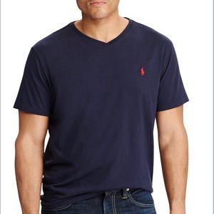 Polo Ralph Lauren Classic V Neck T Shirt Men's XL